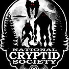 Bigfoot, Dogman, Mothman, UFO's; National Cryptid Society by NationalCryptid