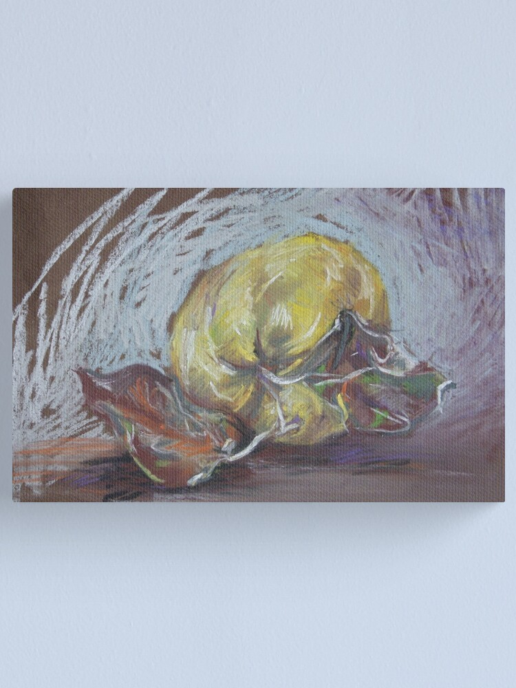 Alternate view of Quince Canvas Print