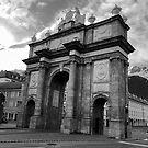 Triumphal Arch in Innsbruck, Austria by Kent Nickell