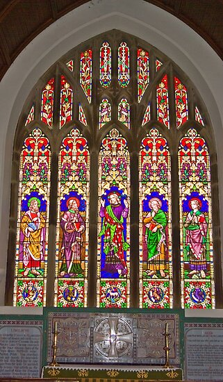 Window #2 East Witton Church by Trevor Kersley