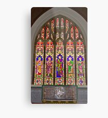 Window #2 East Witton Church Metal Print