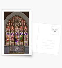 Window #2 East Witton Church Postcards