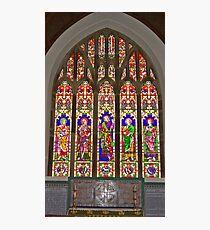 Window #2 East Witton Church Photographic Print
