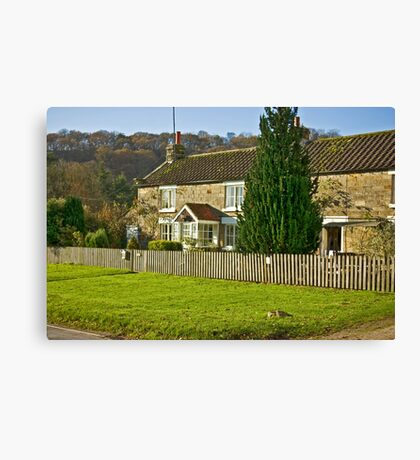 Cottages - Hutton le Hole Canvas Print