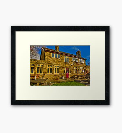The Crown Inn - Hutton le Hole Framed Print