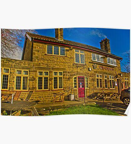 The Crown Inn - Hutton le Hole Poster