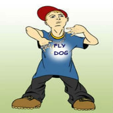 FLY DOG the Thug Boy by bebebelle