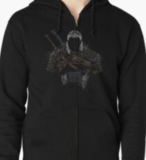 Geralt the witcher Zipped Hoodie