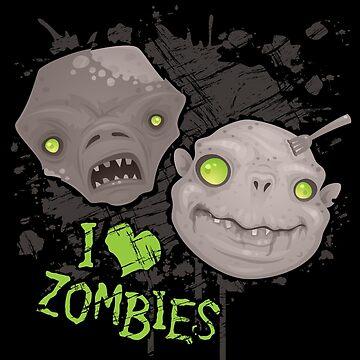 Zombie Heads by fizzgig