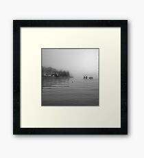 The Salt Lake Stockholm Framed Print