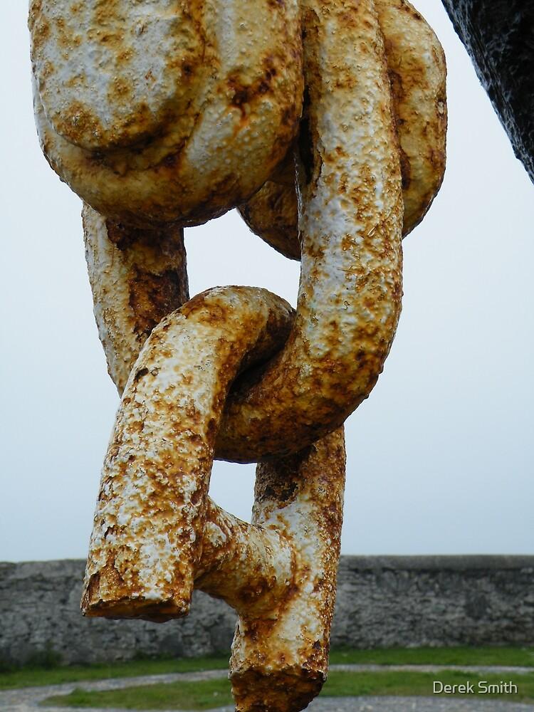 Rusty chain by Derek Smith