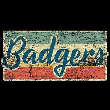 badgers by GeschenkIdee