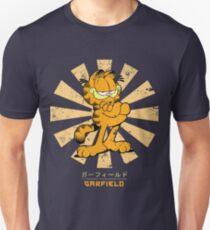 Camiseta ajustada Garfield Retro Japonés