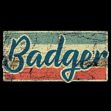 Badger by GeschenkIdee