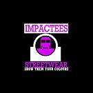 IMPACTEES STREETWEAR TRAIN LOGO PURPLE by IMPACTEES