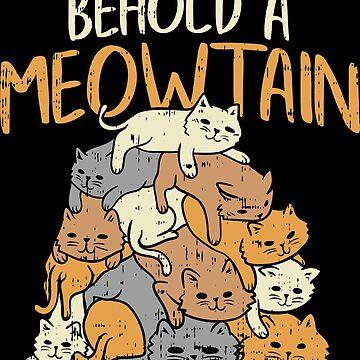 funny cat t shirt cat lovers by Rueb
