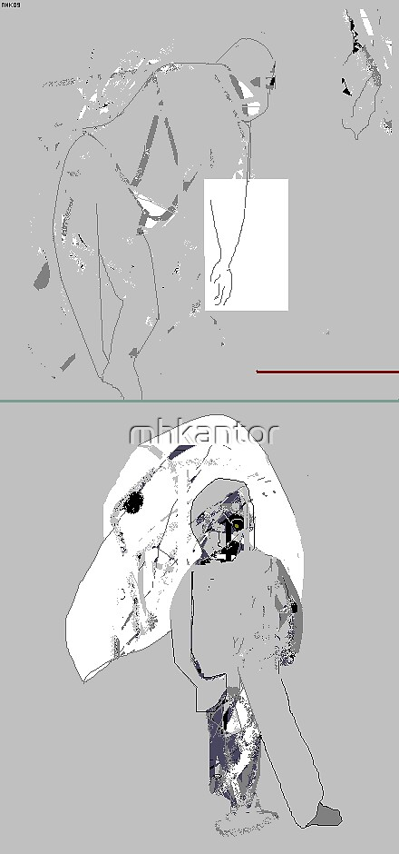 fading into grey by mhkantor