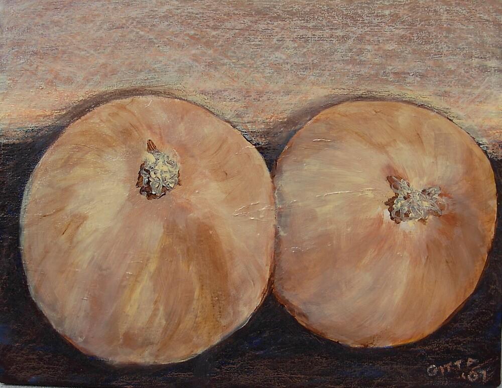 Wild Onions by Gitta Brewster