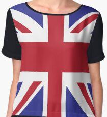 Union Jack Chiffon Top