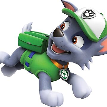 PAW Patrol Rocky Running by docubazar7