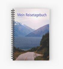 Mein Reisetagebuch Eintragbuch für Weltenbummler  Spiral Notebook