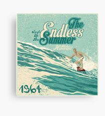 The endless summer 1964  Canvas Print