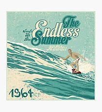 Der endlose Sommer 1964 Fotodruck