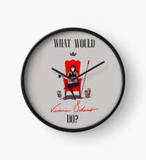What Would Victoria Schwab Do? Clock