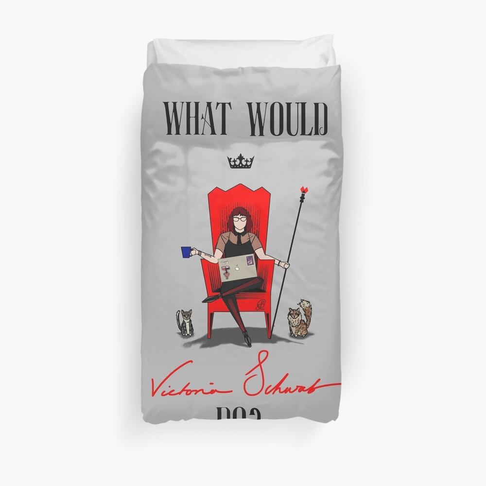¿Qué Victoria Schwab haría? Funda nórdica