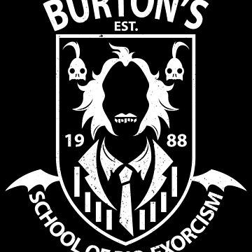 Burton's School of Bio-Exorcism by JRBERGER