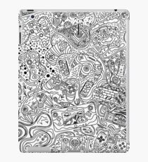 Videogame Controller Line Art iPad Case/Skin