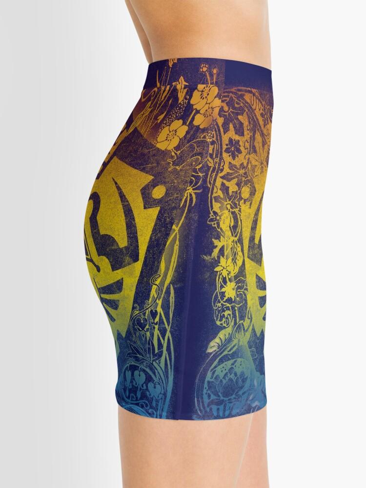 Alternate view of garden of wisdom Mini Skirt