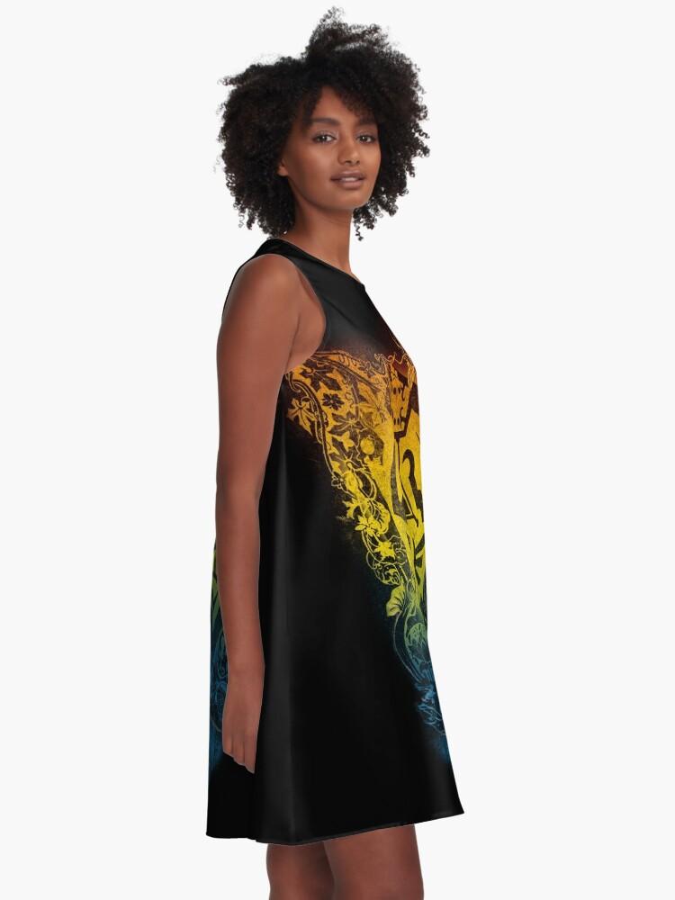 Alternative Ansicht von Garten der Weisheit A-Linien Kleid