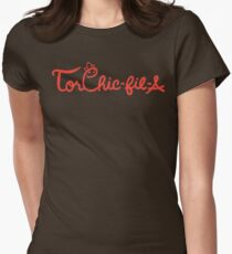 Torchic-fil-a Women's Fitted T-Shirt