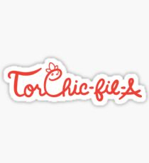 Torchic-fil-a Sticker