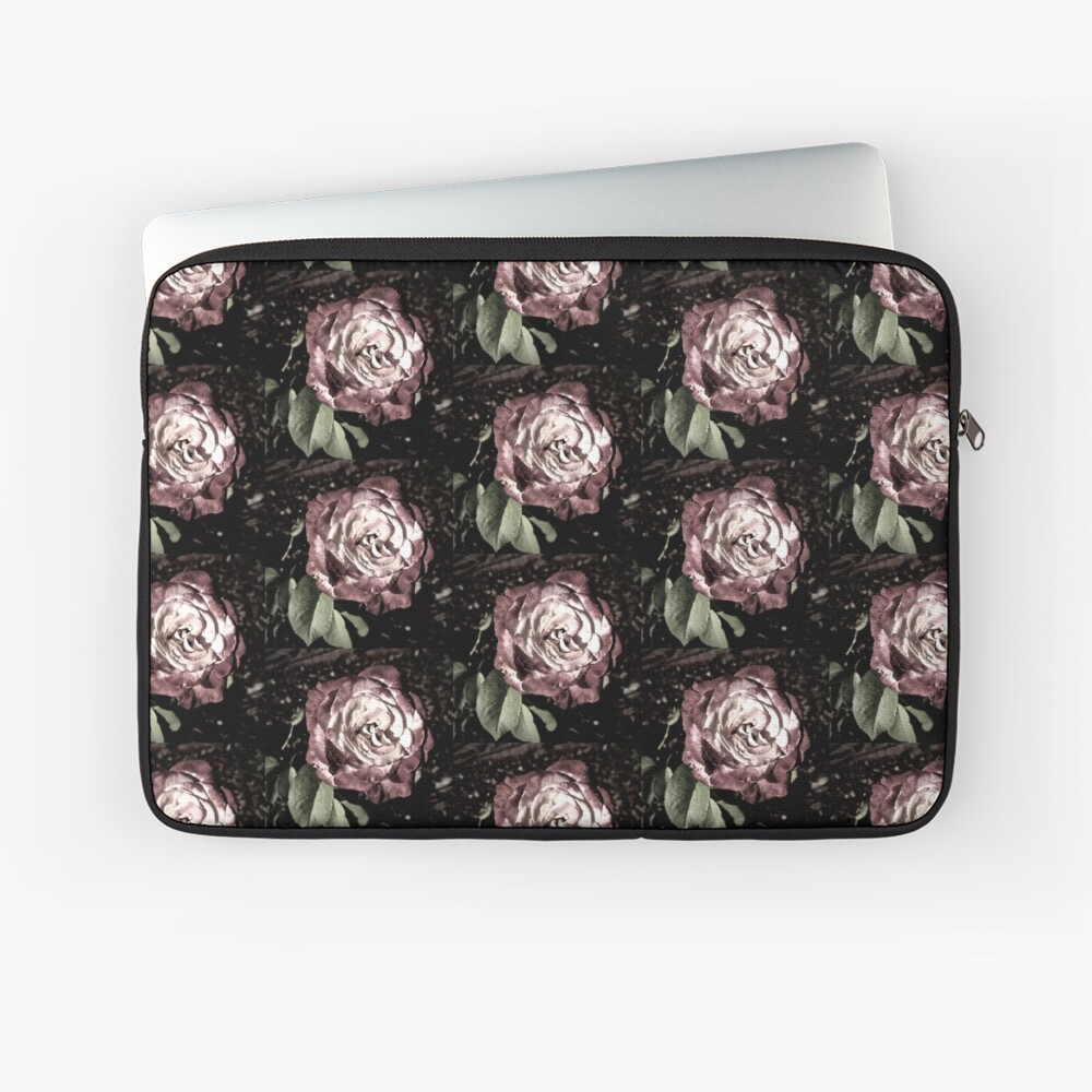 Winter Park October Rose Laptop Sleeve
