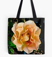 Orange You Glad You Stopped to Smell the Roses Tote Bag