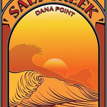 Salt Creek Dana Point California Surfing by theoatman