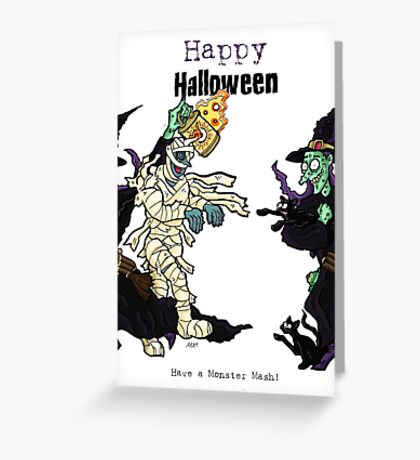JokerWrap - Halloween Witch out!  Greeting Card