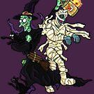 Halloween - Bandage Handler!  by Jokertoons