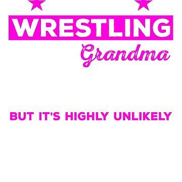 Wrestling Grandma Shirt, Wrestling Grandma Tshirt, Wrestling Grandma Gift, Wrestling Grandma, Wrestling Shirt, Gifts For Grandma by mikevdv2001