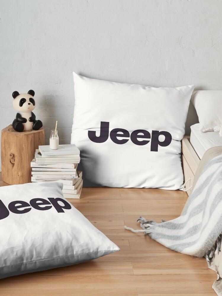 Alternative Ansicht von Jeep-Logo-Waren Bodenkissen