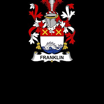 Franklin Coat of Arms - Family Crest Shirt by FamilyCrest