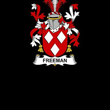 Freeman Coat of Arms - Family Crest Shirt by FamilyCrest