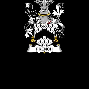 French Coat of Arms - Family Crest Shirt by FamilyCrest