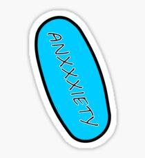 Anxxxiety Sticker