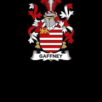 Gaffney Coat of Arms - Family Crest Shirt by FamilyCrest