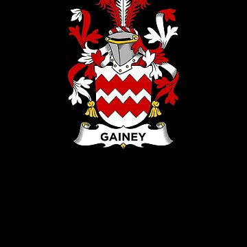 Gainey Coat of Arms - Family Crest Shirt by FamilyCrest