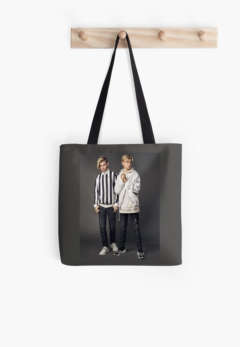 cool twin Tote Bag
