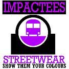 IMPACTEES STREETWEAR TRAIN LOGO PURPLE 2 by IMPACTEES